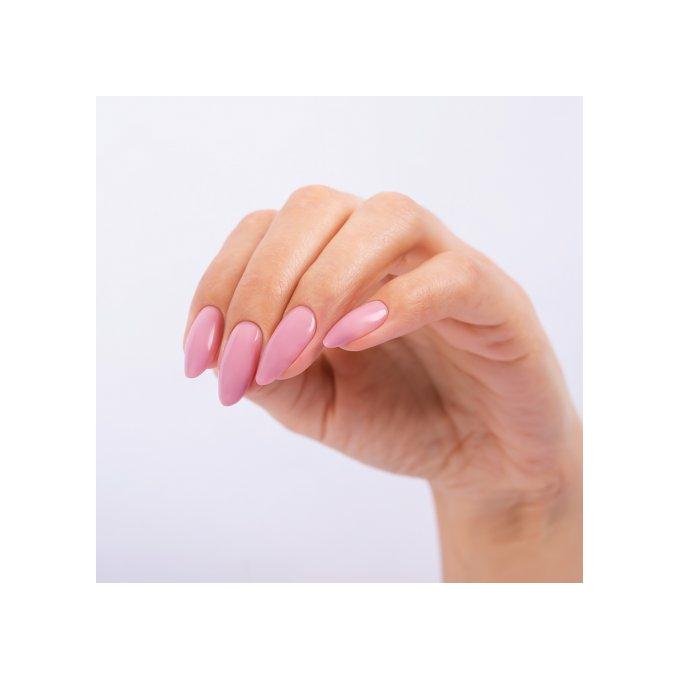 paznokcie hybrydowe Semilac - kolor dirty nude rose